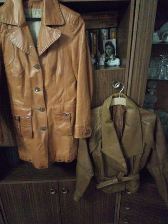 Естествена кожа якета