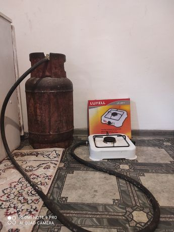 Газ балон и плита