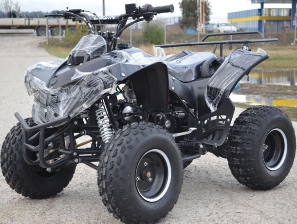 ATV Renegade 125 CC + Casca, Import Germania