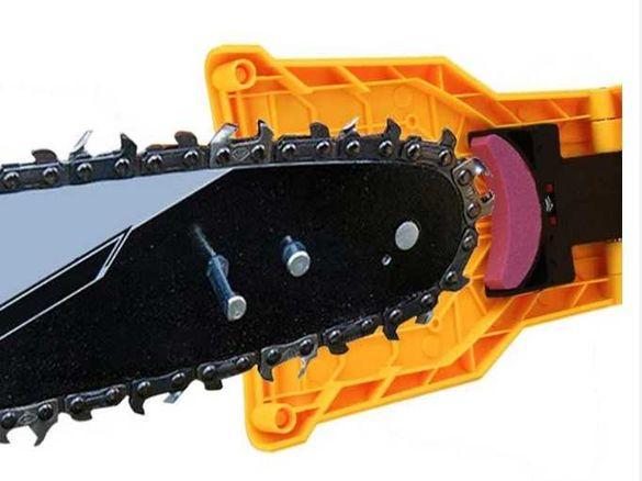 Инструмент за заточване на верижни триони