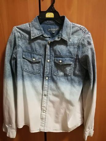 Риза дънкова от Bonpoint - бутик за детски дрехи с капси