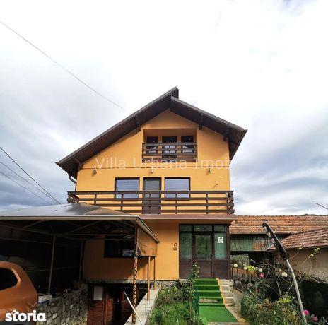 Casa de vacanta 180 mp + teren 1200 mp cu livada Valea Doftanei