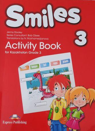 Книга по английскому Smiles 3 activity book