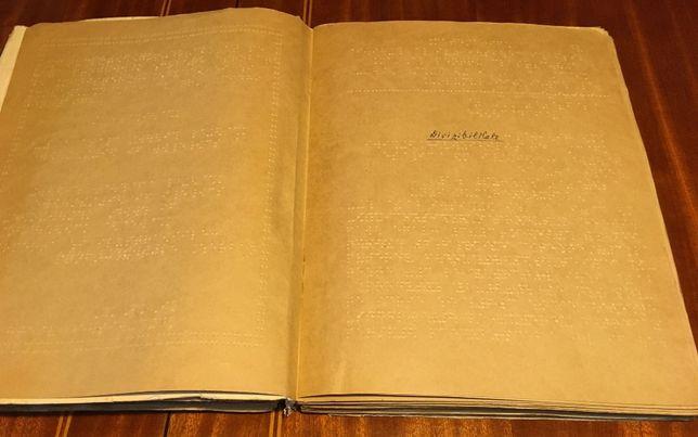 Asociația Nevăzătorilor din România - lot 19 manuale alfabetul Braille