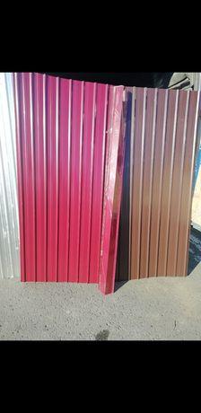 Tabla cutata zincata si color diferite grosimi preturi