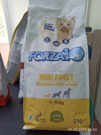 Корм для собак Forza 10 mini adult м цыплёнком и картофелем