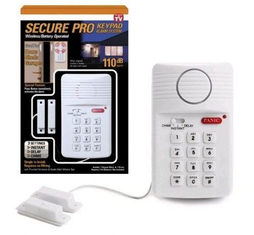 аларма за врата, с 3 настройки, клавиатура за сигурност с паник бутон