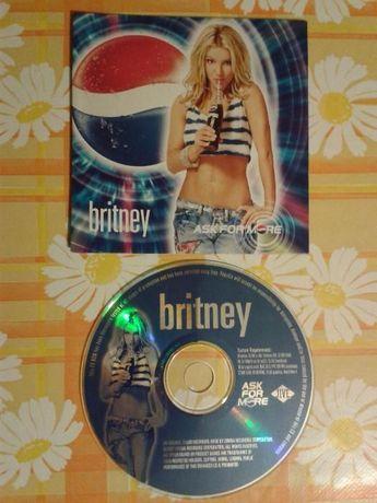 Продава се ново рекламно CD на PEPSI с Бритни Спиърс от 2001г.