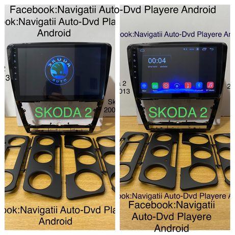 Navigatie Android 10, Skoda 2, DSP, display 10.1 inch