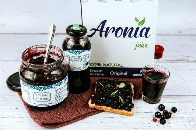 Suc de Aronia 3L, din fructe provenite din plantatie Bio certificata