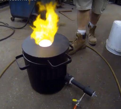 Газова пропанова пещ за топене на метали 1450 целс - 4кг, 10кг, 20кг