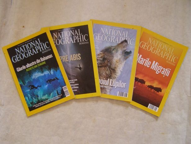 National Geographic- colectie reviste