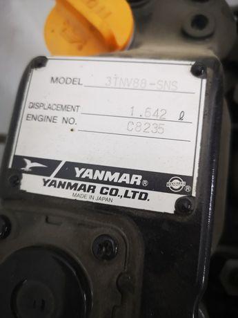 Motor Yanmar 3TNE66, complet, garanție 12 luni