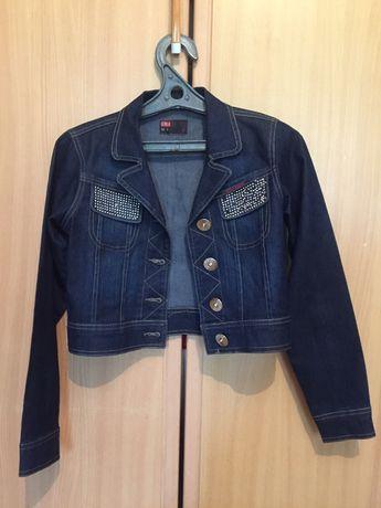 Укороченная джинсовка SEVILLA