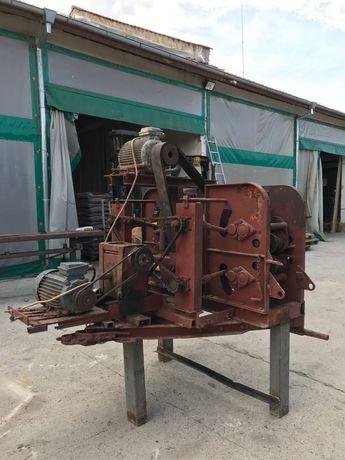 Машина за белене на дървесина