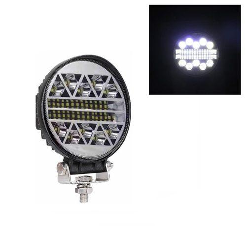 108W LED ЛЕД Диоден Фар Кръгла Работна Лампа Прожектор Задна Светлина