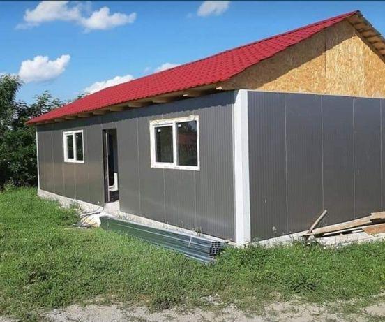 Vand/construim case modulare pe structura metalica