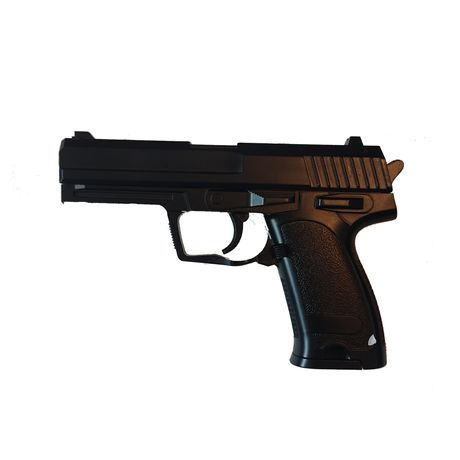 Детский игрушечный железный металлический пистолет
