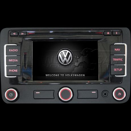 Card update SD VW RNS 315 Golf Passat Touareg Tiguan Touran CC Eos