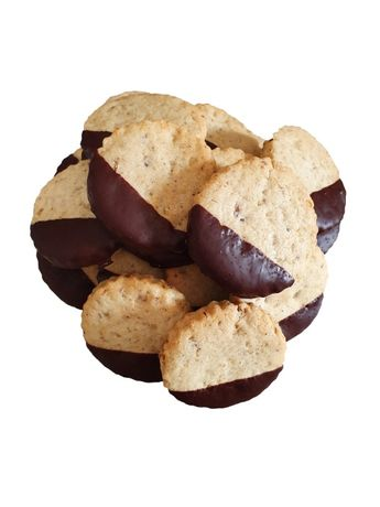 Fursecuri cu nuci si ciocolata neagra 250 gr Dulce de Roxana