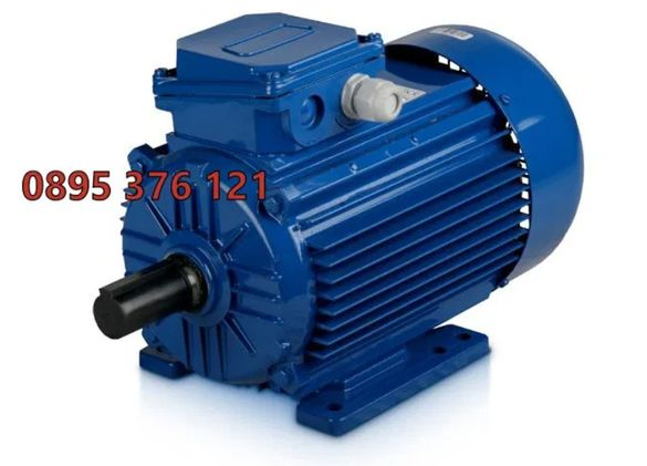 Монофазен двигател 4kw електромотор / мотор за циркуляр месомелачка