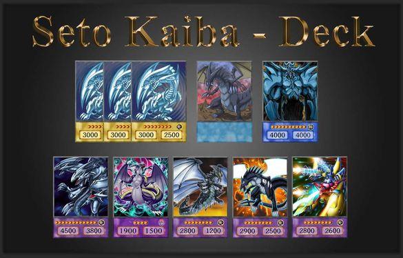 Yu-Gi-Oh! Anime Style: Seto Kaiba - Awakening of Dragons Deck