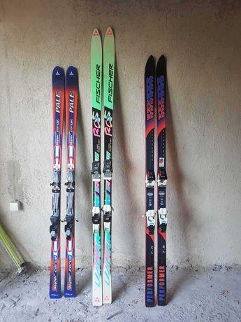 Зимни ски различни модели