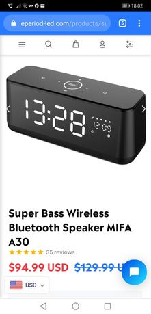 Boxa portabila Mifa A20 L / A30 Bluetooth speaker