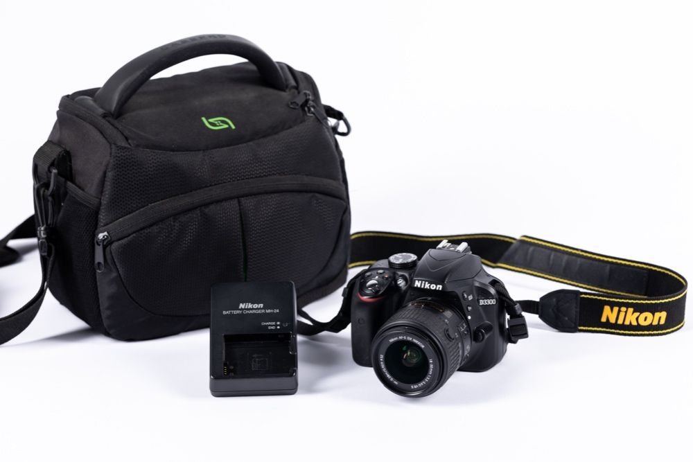 Vand Kit DSLR Nikon D3300 in stare foarte buna Stefanestii de Jos - imagine 1