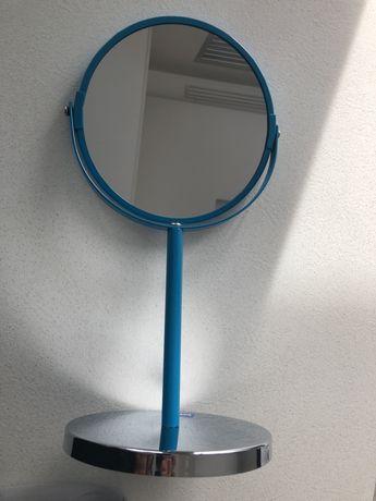 Козметично огледало в цвят тюркоаз