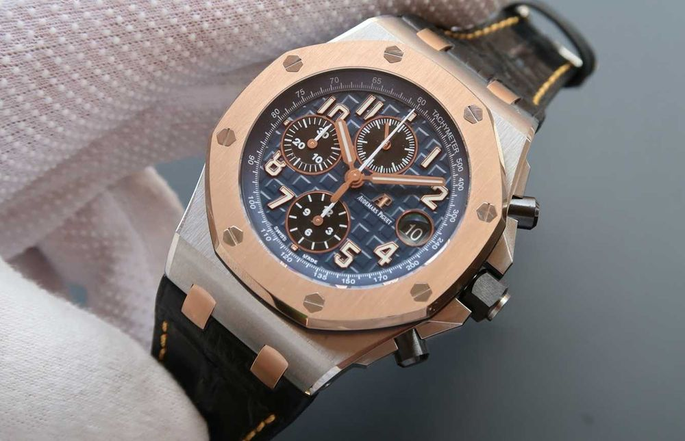 Audemars Piguet Royal Oak Offshore RG Bezel Blue JF Automatic SWISS