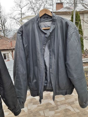 Комплект кожено яке с панталон