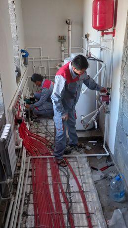 Сантехник.Отопление, Водопровода. Канализация.Прочистка канализация!!