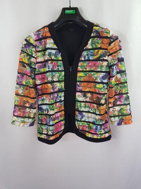 Sacou geaca jacheta dama Bexleys marimea 38 M colorata v9