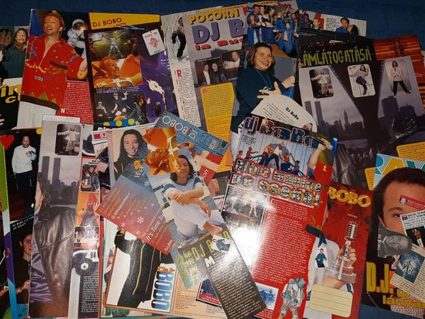 Colecţie de articole cu DJ Bobo