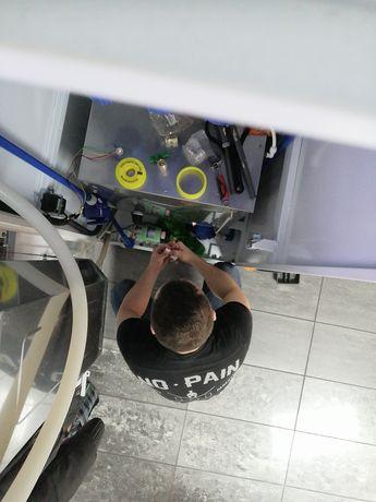 Ремонт аппаратов воды, очистки.