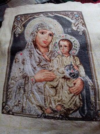 """Гоблен """"Чудодейната Света Богородица"""" , цена по договаряне"""