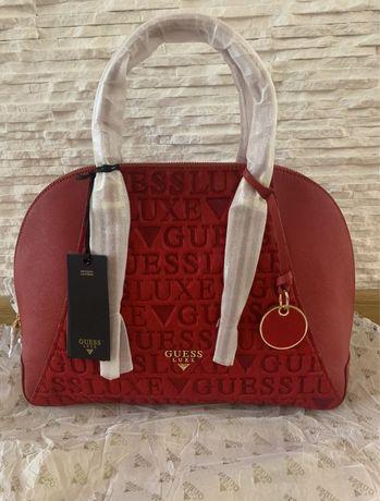 Уникална чанта GUESS LUXE 100% Original, 100% Естествена кожа
