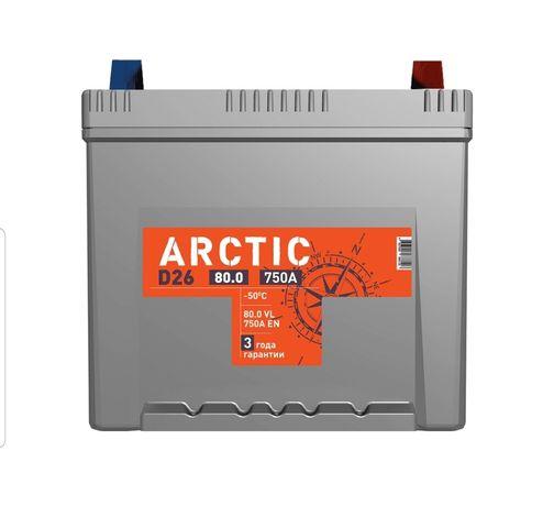 Аккумулятор TITAN ARCTIC 80А