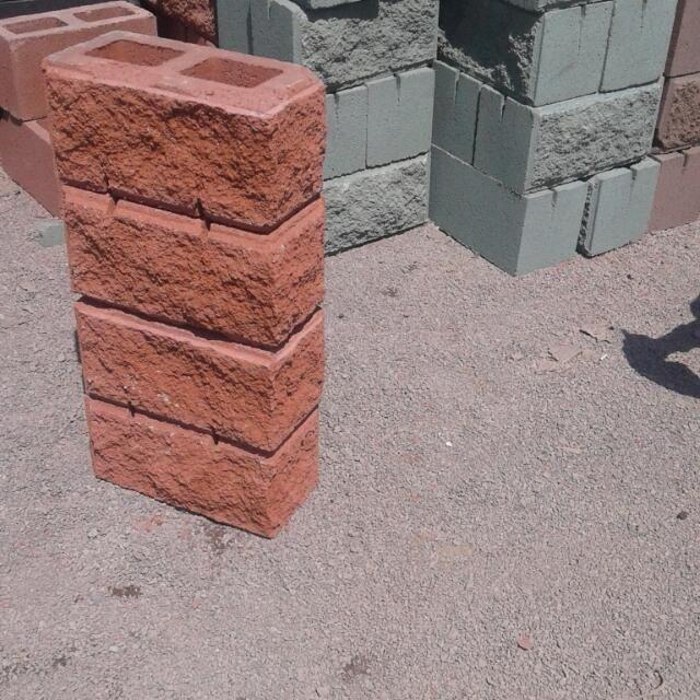 Сплитерный блоки калона рванный перегородки Алматы - изображение 1