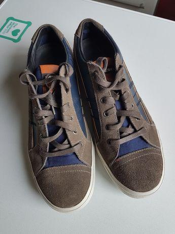 Sneakers Diesel, vintage, noi, piele naturala,
