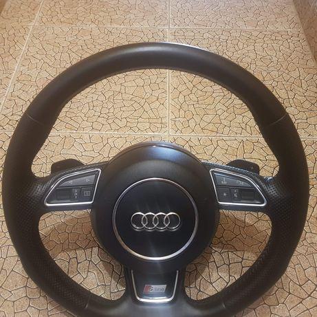 Volan Audi A6 4G 2014 Sline cu padele