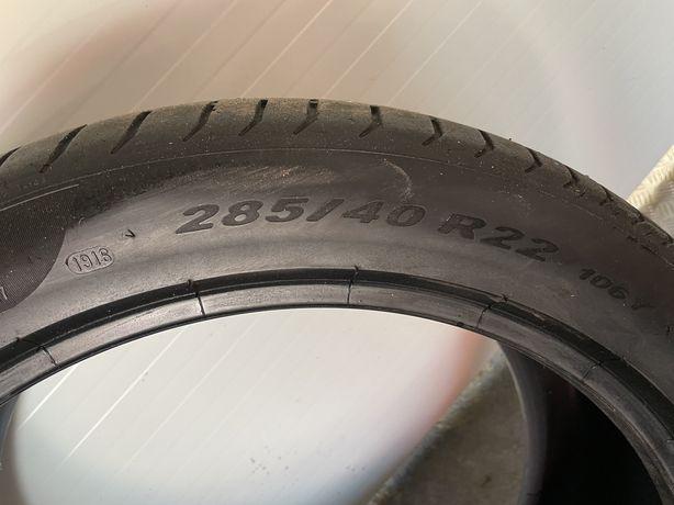 "Anvelopa pirelli 22"" mercedes gle coupe"