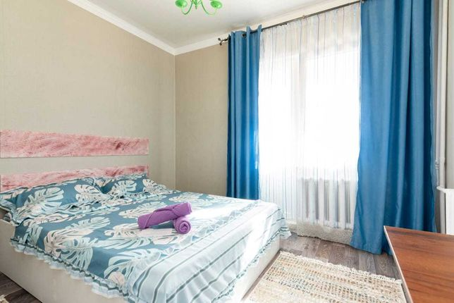 Квартира студия Абая-Саина за 7500тг посуточно
