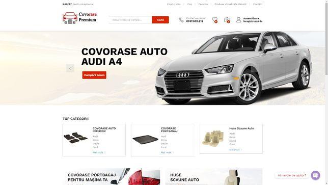 Creare Magazin Online, Site Web de Prezentare sau Site de Anunturi
