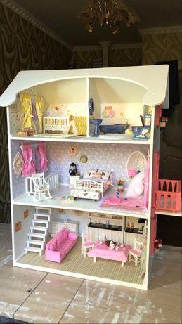 Кукольный домик ручной работы!