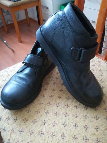 Продам кожанные ботинки Kemal.Pafi. Размер 36