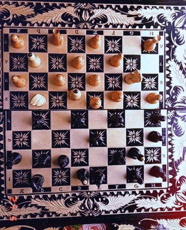 Шахматы-нарды ручной работы на заказ