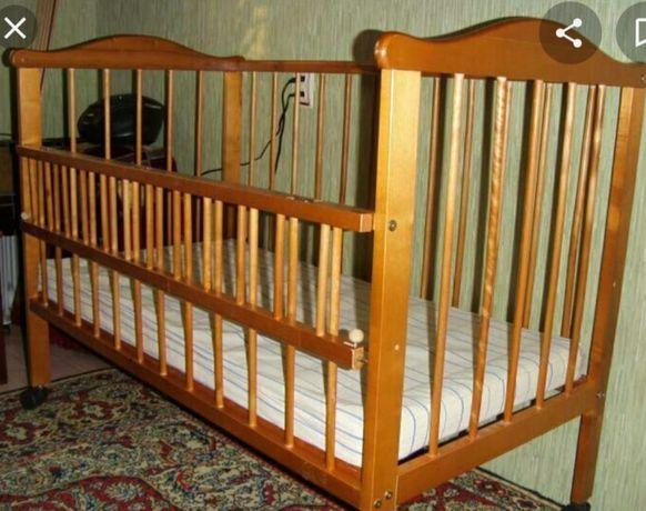 Продается детская кровать совсем новая