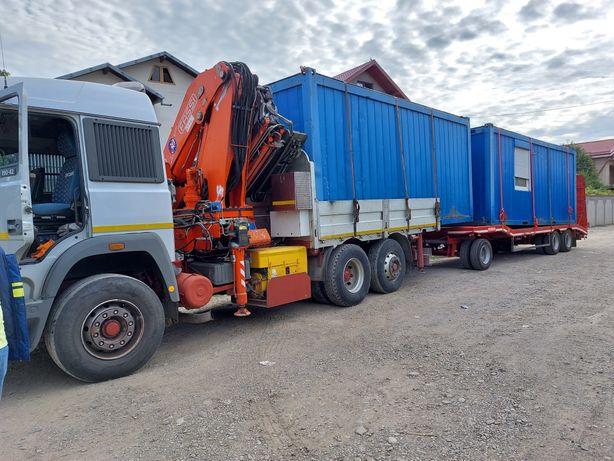 vand sau inchirieze camion cu macara si trailer